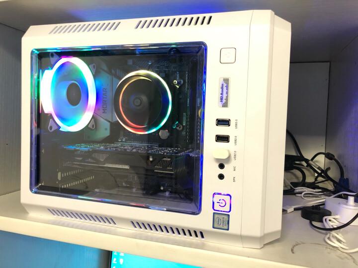 先马(SAMA)游戏风暴 18CM蓝光 机箱风扇(LED灯光/主板小3拼+电源D型接口/低电压/大风量/静音/高效散热) 晒单图