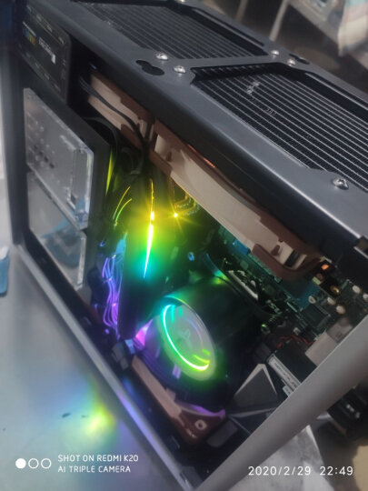 乔思伯(JONSBO)U4 白色 ATX机箱 (支持ATX主板/高塔散热器/ATX电源/全铝外壳/5MM厚度钢化玻璃侧板) 晒单图