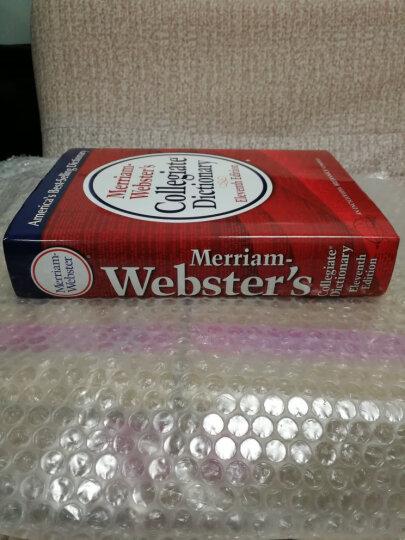 韦氏大学英语词典 Merriam Webster's 韦氏词典 字典 GRE考试 晒单图