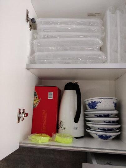 唐易 冰箱收纳盒塑料厨房密封保鲜盒带盖冷冻储藏盒水果食物收纳罐 饺子盒-3件套 晒单图