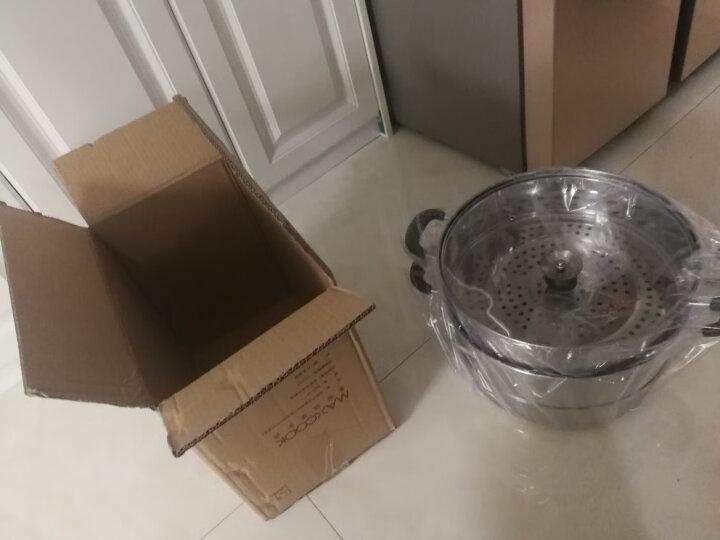美厨(maxcook)二层蒸锅34cm 不锈钢复底蒸锅 电磁炉通用 蒸煮两用 适合2-8人 MBZ-34 晒单图