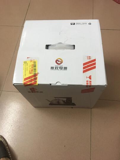 心好(xinhao)智能全自动上水电热水壶 304不锈钢烧水壶 煮茶泡茶壶智能续水电茶炉XH-QZD-Q1 1L电水壶黑色 晒单图