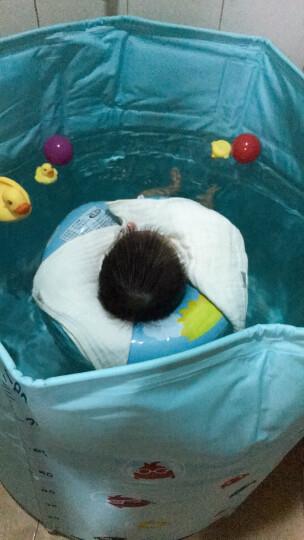 诺澳 新生婴儿游泳池家庭用幼儿童加厚保温游泳桶 可调合金支架洗澡桶免充气宝宝浴桶浴盆 中号戏水海洋球池 晒单图