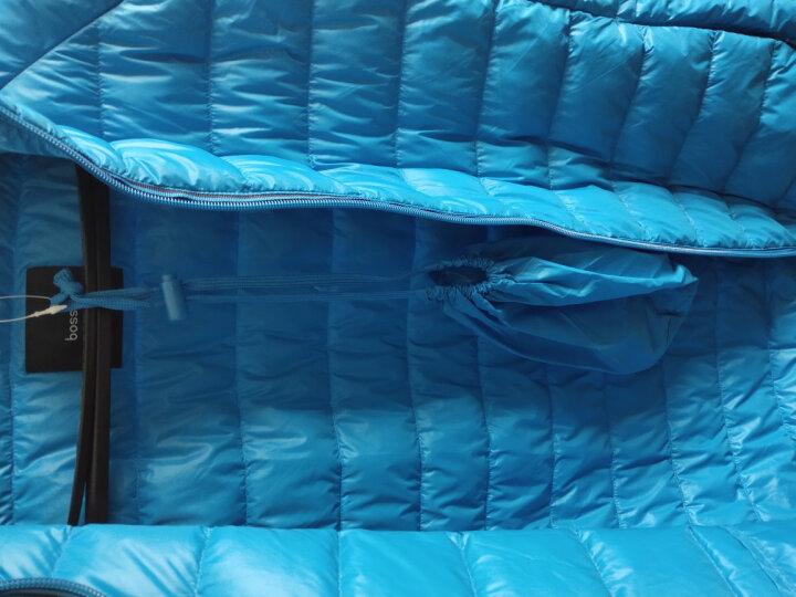 堡狮龙秋冬新款男装马甲轻薄羽绒服背心 913201060 582 蓝绿松石色 XXL码 185/100B 晒单图