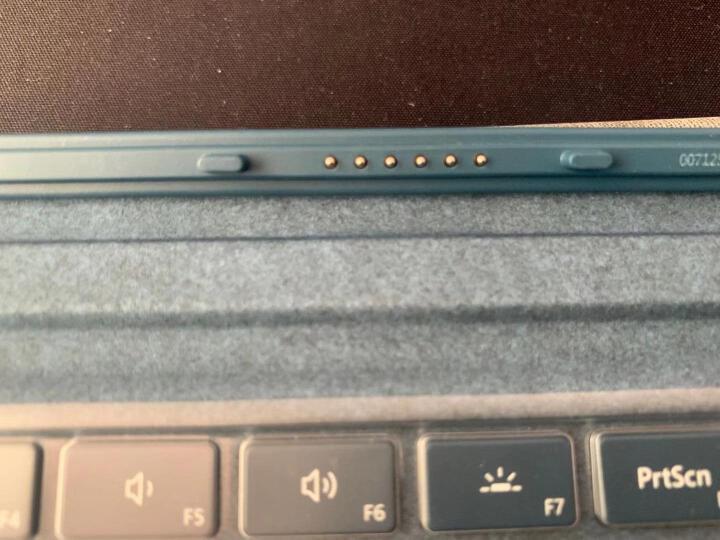 微软 Surface Pro 特制版专业键盘盖 灰钴蓝 | Alcantara欧缔兰材质 Surface Pro 7及Pro 6/5/4/3代产品通用 晒单图