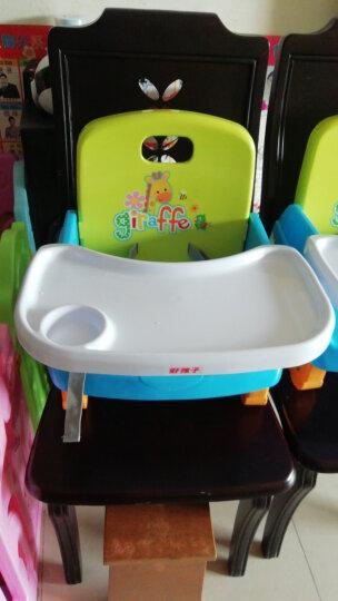 好孩子(gb)宝宝餐椅多功能儿童餐椅便携式家用可折叠餐桌椅吃饭增高椅婴儿餐椅儿童餐桌 黄绿色 晒单图