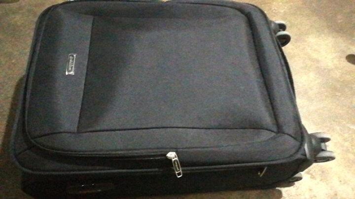 威豹(WINPARD)拉杆箱男女旅行箱 大容量30英寸商务休闲行李箱万向轮托运箱 98018黑色 晒单图