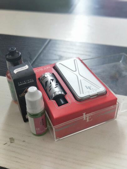路易伯爵电子烟大烟雾套装大功率80W温控蒸汽烟戒烟器产品MY BOX 黑色 晒单图