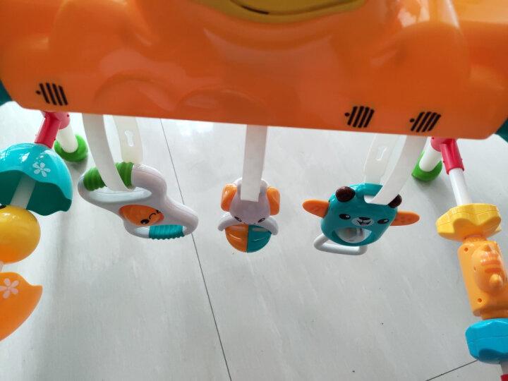 澳贝(AUBY)益智玩具儿童婴儿宝宝玩具运动宝宝早教音乐健身架男孩女孩生日礼物(新旧配色随机发货)461112 晒单图