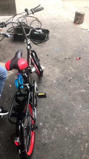 VMAX 变速减震折叠自行车20寸成人超轻便携折叠车自行车男女学生16寸小轮单车自行车男 黑色减震单速 20寸(身高140-170CM) 晒单图