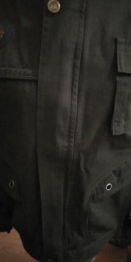 烈焰战队 工作服套装 男春秋长袖军旅户外汽修工程服 纯棉劳保服工装套装 电焊服 保安作训服 可定制 深蓝色627套装(上衣+裤子) 175(建议135-145斤) 晒单图
