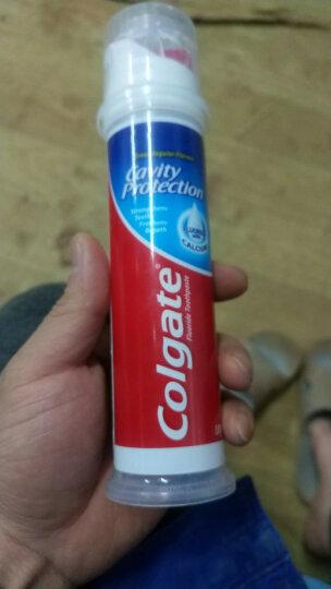 高露洁(Colgate) 劲白茉莉白茶 亮白牙膏 180g  清新口气 (新老包装随机发) 晒单图