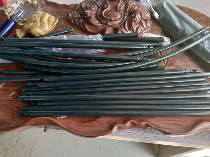 菜园兄弟 爬藤支架 鲜花铁艺拱门花架 丝瓜黄瓜番茄 拱形大棚架子 花架 爬藤架13mm(不含箱) 晒单图