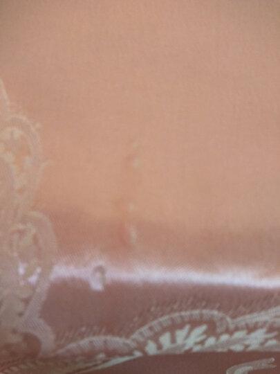 熙云阁家纺 双人枕套大贡缎提花加长枕头套单双人学生信封式1.2/1.5/1.8米情侣枕芯套 倾城风范-米橙 48*150cm 长枕套 晒单图