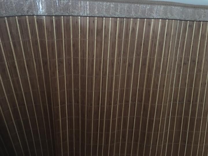 百富帝(byford)凉席竹席1.5米床 双人折叠竹藤双面两用夏凉碳化席子 悦享双面席(不含枕套) 晒单图