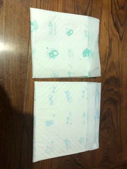 十月结晶 婴儿隔尿垫 一次性宝宝纸尿垫床单产褥垫护理垫 100片新生儿33*45cm 晒单图