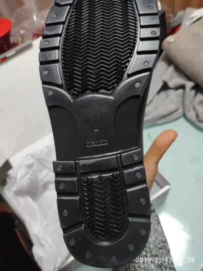 网易严选 切尔西短款雨靴 时尚PVC树脂材质防水防滑短筒胶鞋雨鞋 L(39-40码) 晒单图