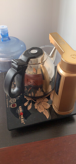金灶(KAMJOVE) 全智能自动上水电热水壶泡茶电茶壶 全自动电茶炉 茶具电茶壶  V7 晒单图