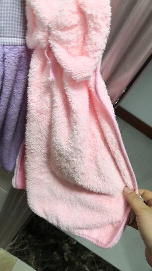 三利 珊瑚绒蝴蝶结挂式擦手巾 加厚不掉毛强吸水 浴室厨房居家多用途抹手毛巾 30×44cm 象牙色 晒单图