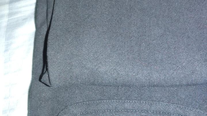 帅洋唐装男士套装棉麻春秋中国风青年外套复古中山装中式男装亚麻汉服 加绒咖啡色【棉衣+裤子】】 175/XL (146斤到160斤) 晒单图