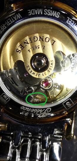 浪琴(Longines)瑞士手表 瑰丽系列机械情侣表女表L4.321.4.18.6(L4.321.4.12.6) 晒单图
