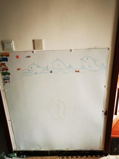 酷乐家涂鸦画笔画板水溶性无尘粉笔彩色可擦黑板绘画笔 磁力世界地图拼图A3版 晒单图