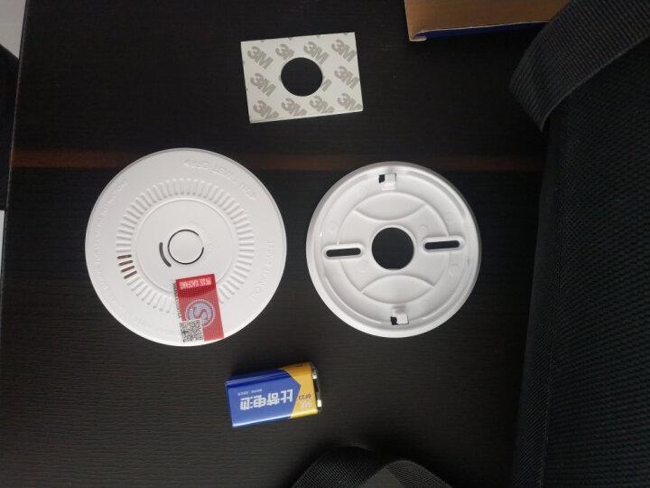 岡祈(Gangqi)GS507D 烟雾报警器独立烟感探测器无线烟雾感应器家用防火浓烟警报消防火灾烟感报警器 晒单图