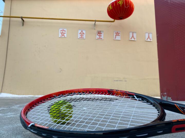 HEAD海德网球拍 Spark MX Tour碳素拍 男女通用 黑红 穿好线 送训练球、吸汗带、避震器、拍包 晒单图