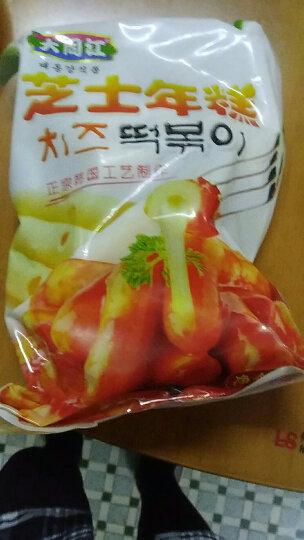 【免运费】韩国芝士年糕部队火锅食材夹心拉丝马克定食 500g (送辣椒酱) 包邮 三色混搭 晒单图