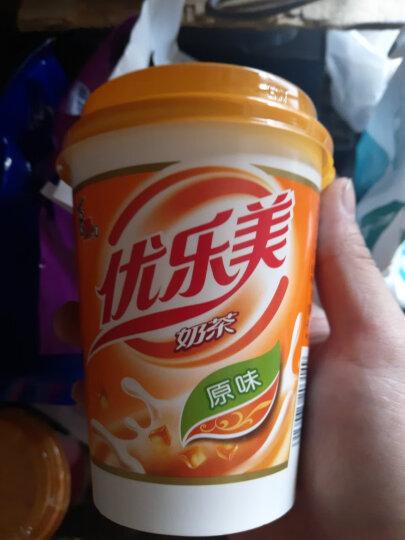 喜之郎 优乐美 u.loveit 椰果奶茶 80g*4杯 促销装 晒单图