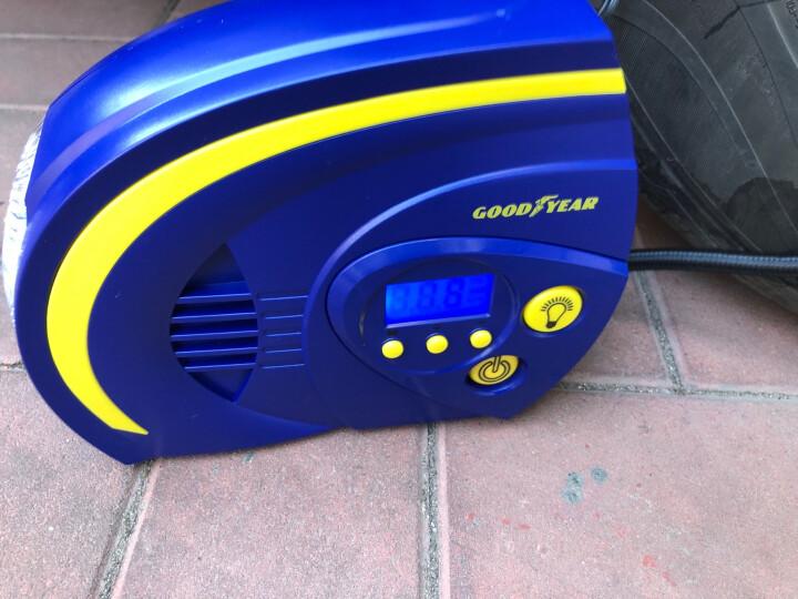 固特异(Goodyear) 车载充气泵 数显 预设胎压 车轮胎 足球 电动车 摩托车用打气泵 GY-2504汽车用品 晒单图
