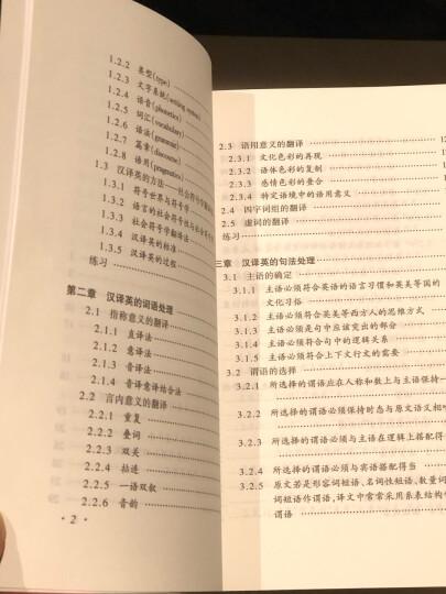 21世纪英语学习丛书:汉英翻译基础 晒单图
