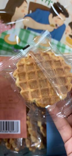 米老头 牛奶味蛋黄煎饼300g 鸡蛋煎饼 小包装饼干 办公室网红休闲零食 儿童学生营养早餐代餐  下午茶糕点 晒单图