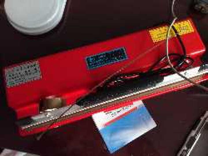 中敏封口机 400台式手压封口机商用 月饼茶叶铝箔塑料纸袋塑封口机 3mm家用热封机 400封装机 400封口机 晒单图