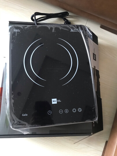 米技(MIJI)电陶炉电磁炉德国米技炉台嵌两用炉触控式定时静音双圈烹饪Gala I Cook1900白色 1900W 晒单图