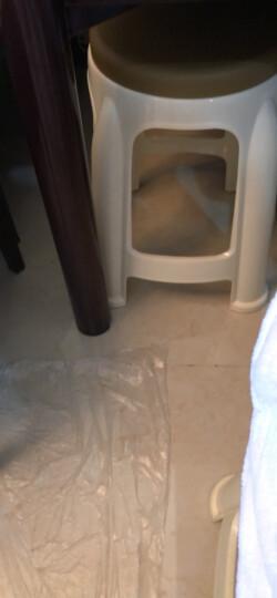 福金百强 塑料凳子小板凳加厚时尚餐桌凳 凳子休闲椅子 圆凳板凳 加厚成人 高凳 红色小号31cm高(两件起自动免邮) 晒单图