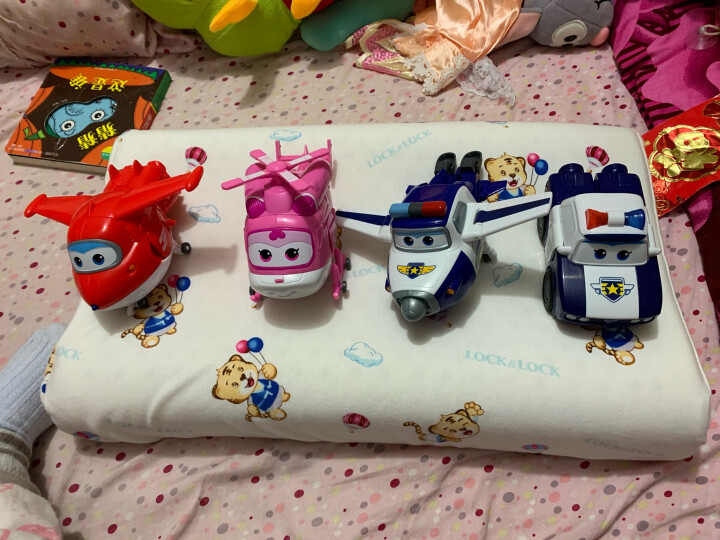 奥迪双钻(AULDEY)超级飞侠益智玩具大变形机器人-包警长 儿童玩具男女孩儿童节礼物 710250 晒单图