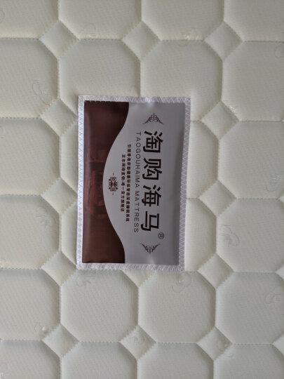 淘购海马床垫 香港海马床垫进口乳胶床垫 双人席梦思弹簧床垫  椰棕床垫硬棕垫 软硬两用可拆洗 B款 针织面料+邦尼尔弹簧+天然椰棕 1500*1900 晒单图