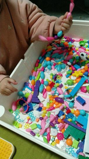 迪士尼(Disney)儿童手工制作无线串珠diy玩具穿珠子手链项链宝宝益智礼物男孩女孩 DS-2569 晒单图