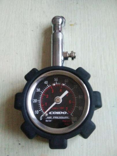 风王(COIDO)汽车胎压计 高精度胎压表 车用轮胎压力表 6075黑色款 晒单图