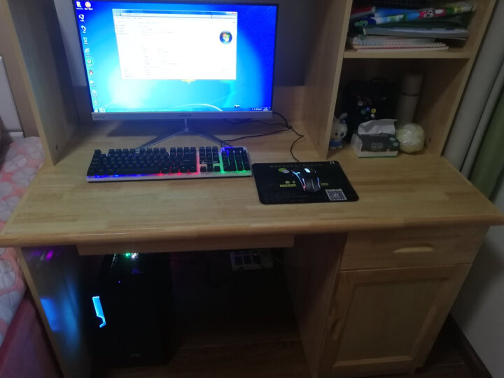 航向者 intel八核十六线程/RX580独显/32G台式组装电脑主机DIY组装机吃鸡LOL游戏办公 电脑主机 套餐三(i9级八核+32G+1060高端独显) 晒单图