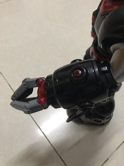 宝贝星(BBS)早教智能机器人玩具 儿童玩具男孩编程遥控机器人机械战警益智早教机 36CM 机械战警(白 可发射导弹、语音对话) 晒单图