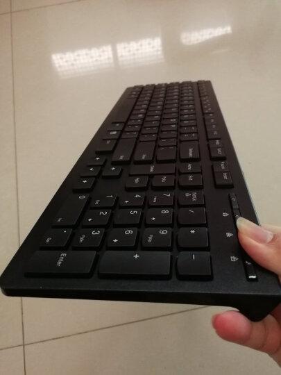 联想(lenovo)键盘 有线键盘 办公键盘 巧克力键盘 电脑键盘 笔记本键盘 K5819单键盘 黑色 晒单图