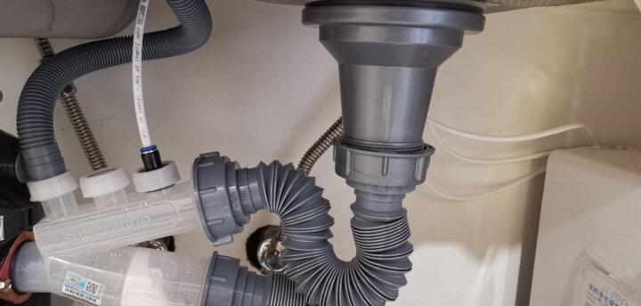 潜水艇(Submarine)CSQ-1B 垃圾处理器防臭下水管厨房家用菜盆下水管 单槽垃圾处理器下水管 晒单图