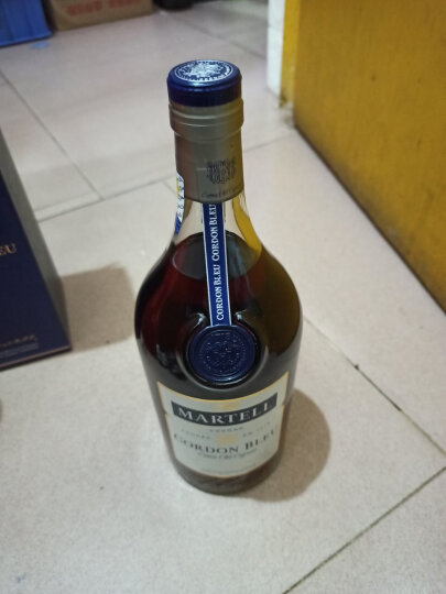 宝树行 马爹利蓝带1000mL MARTELL干邑白兰地法国原装进口洋酒1L 晒单图