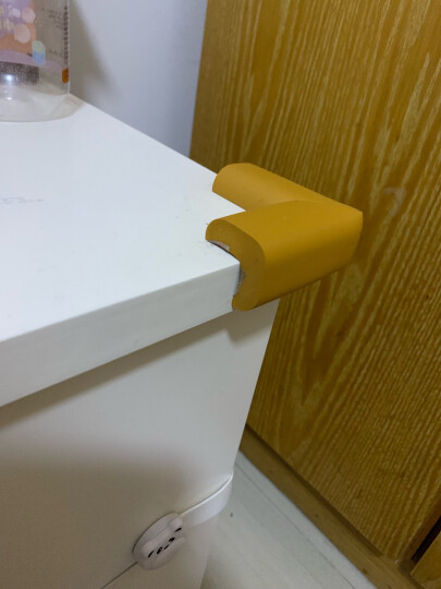 棒棒猪(BabyBBZ) L型防撞角婴儿童安全防护角桌角防碰保护套优质加厚款 粉色8个装 晒单图