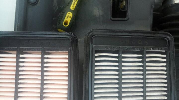 海杰油性空气滤清器空滤机油格空调格滤芯套装 16款新思域十代思域1.5T 空气滤芯 +空调滤芯 晒单图