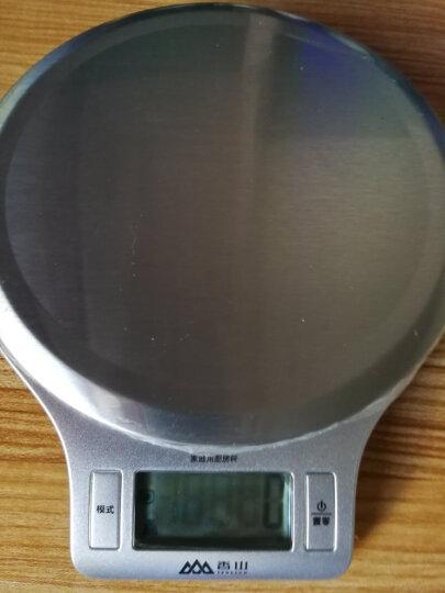 香山厨房秤家用电子秤 精准烘焙称食物秤克秤 EK813/1g(银色) 晒单图