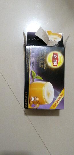 立顿Lipton 奶茶 意式浮香泡沫奶茶冲饮饮料 速溶袋装奶茶粉 100%进口奶源 早餐冲调饮品 10包 175g 晒单图