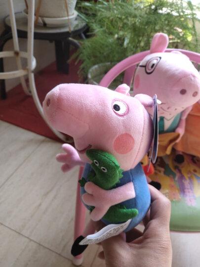 小猪佩奇(Peppa Pig)毛绒玩具抱枕公仔男孩女孩布娃娃玩偶系列生日礼物 小号套装19cm+30cm 晒单图